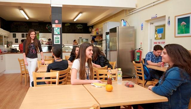 Кафе в школе St.Giles